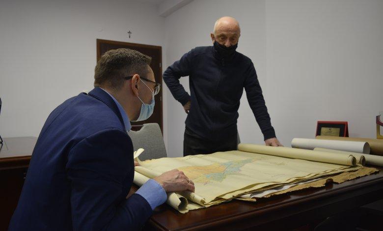 Archiwalne mapy Krusza z 1941r.